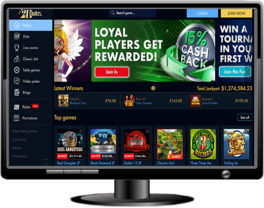 21Dukes Casino Website