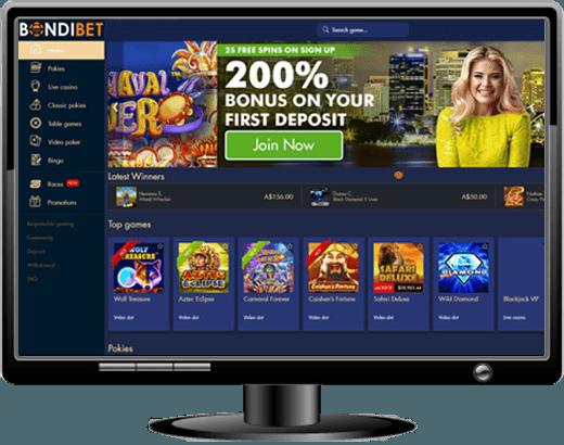 Bondibet Casino Unlimited Match Bonus 110 Free Spins