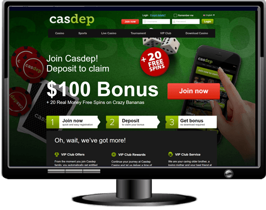 Casdep Casino Website