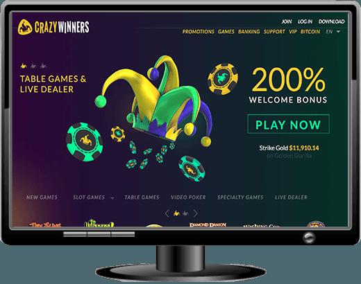 Crazy Winners Casino