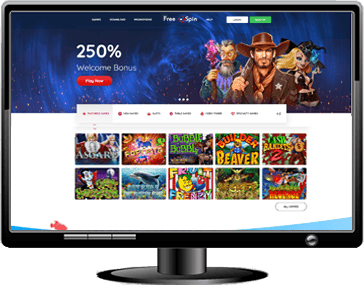 FreeSpin Casino Website