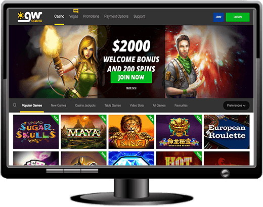 GW Casino Website