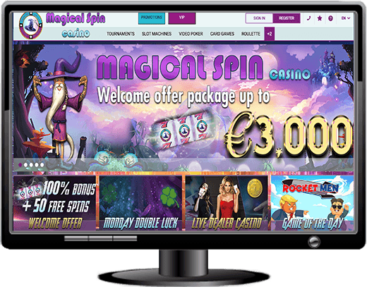 Magical Spin Casino Website