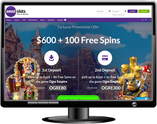 Omni Slots Casino Website