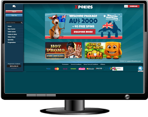 XPokies Casino Website