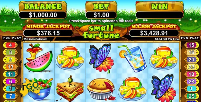 Small Fortune Slot Game