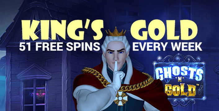 King Billy Ghost n Gold Promo
