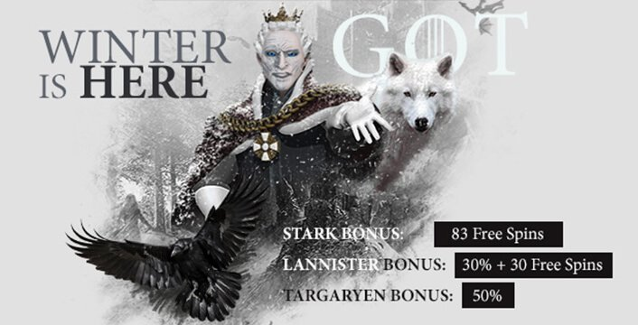 Winter is Coming… and so are the Free Spins!
