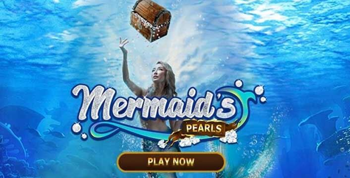 True Blue Mermaid's Pearls