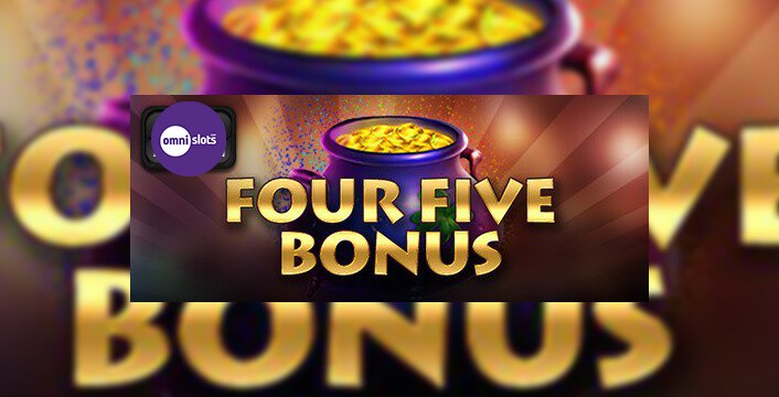 Get 45 Free Spins This Sunday In The Four Five Bonus At Omni Slots