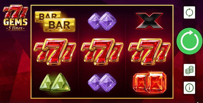 777 Gem Slot In Play