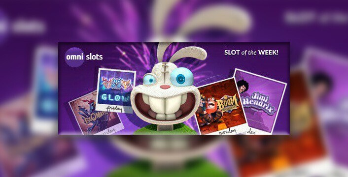 Slot of the Week Promotion at Omni Slots Casino