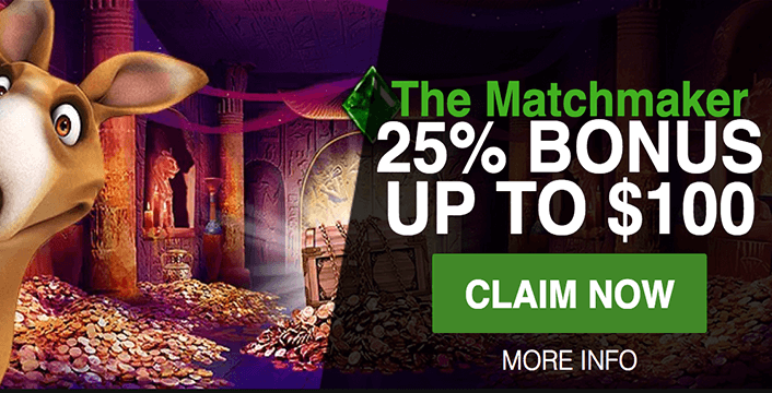 Get Set Up in All the Right Ways with the Roo Casino Match Maker